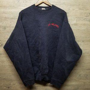 Vintage Crewneck Sweatshirt. Amazing Embroidery!